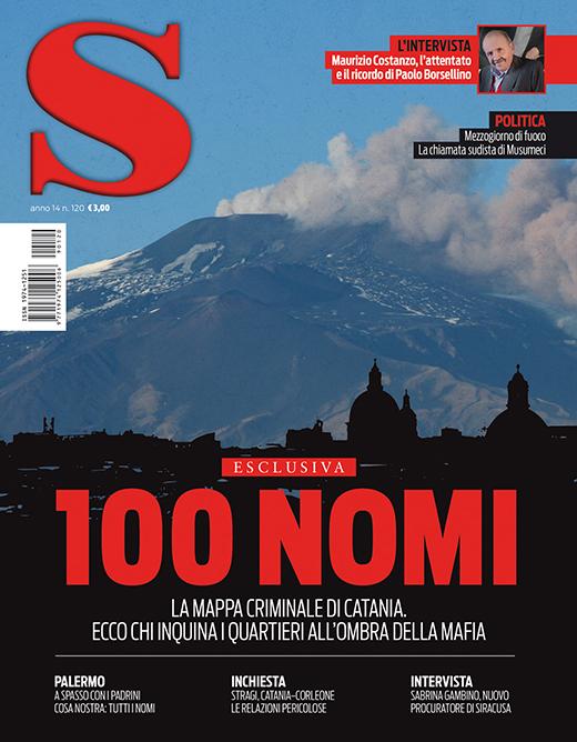 copertina di S Cronache siciliane - Catania