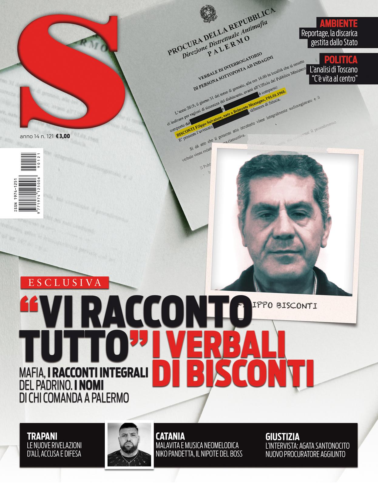 S cronache siciliane n.121 copertina numero di Palermo
