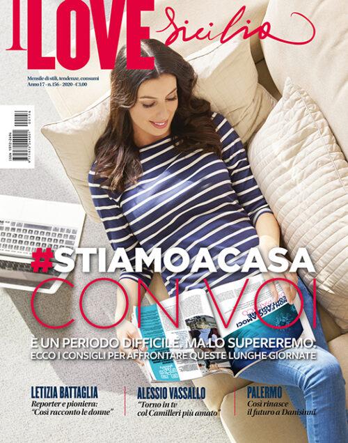 copertina nnumero 156 di i love sicilia