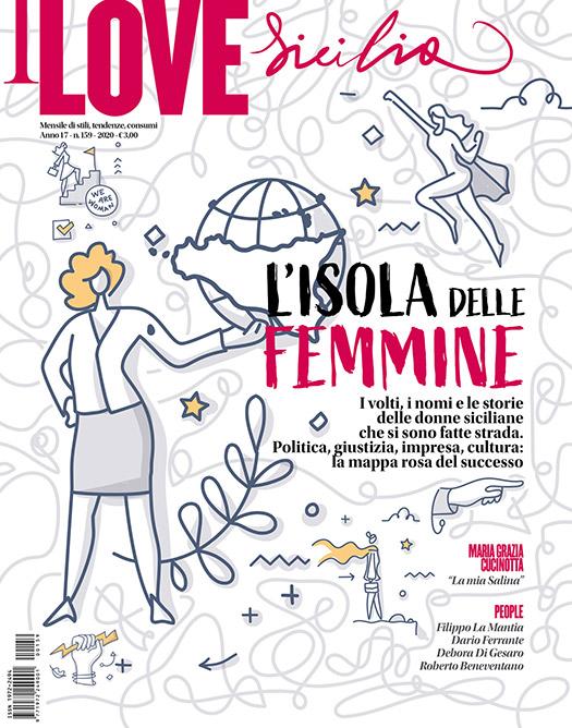 I Love Sicilia 153, il mensile di costume e sullo stile della sicilia