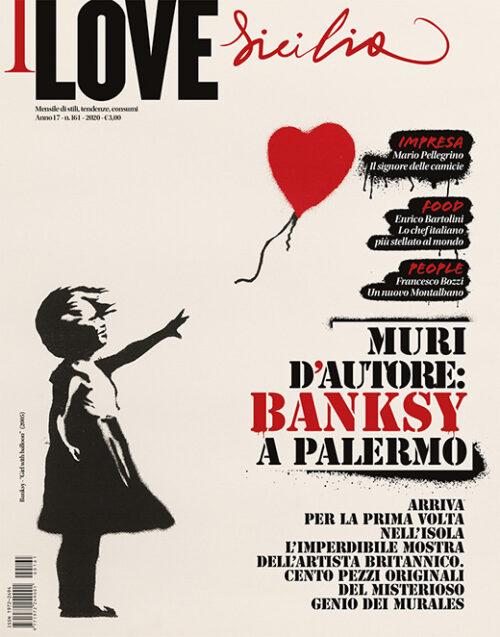 I love 161 - Banksy Palermo
